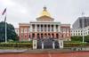 Massachusetts State House in Boston, Mass. USA.