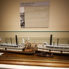 Models of Steamboats in the Maritime Museum, Astoria, OR.