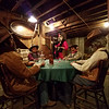 Card game in a saloon in the Pendleton Underground.