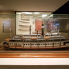 Paddlewheel Steamboat model in the Maritime Museum in Astoria, OR.