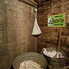 Laundry service is available in the Pendleton Underground