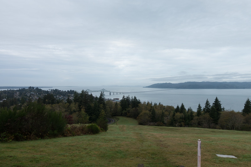 View of the Columbia River from the Astoria Column area.