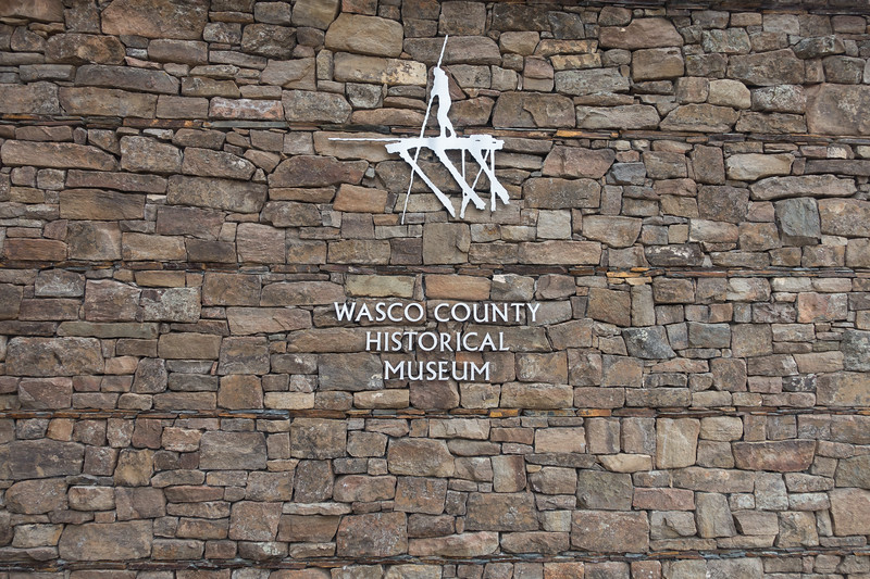 Entering the Wasco County Historical Museum.