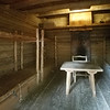 Living quarters inside Fort Clatsop, OR.