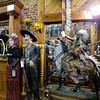 Statues and antiques in a store in Pendleton, OR.