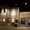 Historical exhibit in the Columbia River Gorge Discovery Center.