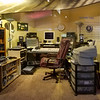 B B King Recording Studio in the BB King Museum, Greenville, Mississippi.