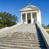 Monument at the Vicksburg Civil War Battle site.