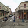 Early Saturday morning in the French Quarter, New Orleans, Louisiana.