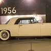 1956 Lincoln Continental at the King's Museum in Graceland.