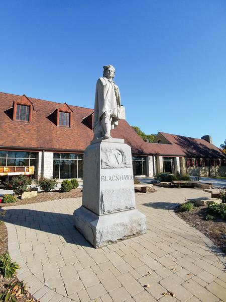 Black Hawk State Historic Site and Museum, Davenport Iowa.