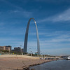 The famous Saint Louis Arch.