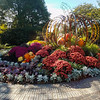Beautiful landscaping at the Missouri Botanical Gardens in Saint Louis.