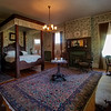 Another upstairs bedroom in the Rockcliffe Mansion, Hannibal, Missouri.