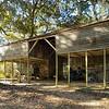 Plantation building on the grounds of Rosedown Plantation, Baton Rouge, Louisiana.