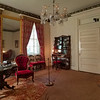 Sitting room at Rosedown Plantation, Baton Rouge, Louisiana.