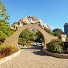 Asian Garden themed area in Spence Park, La Crosee, Wsconsin.