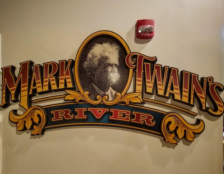 Mark Twains River, Dunuque, Iowa.