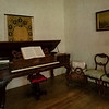 A corner of the music room in Rosedown Plantation, Baton Rouge, Louisiana.