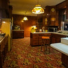 Kitchen at Graceland, Memphis, Tennessee.