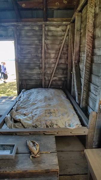 Slave quarters, Natchez Mississippi Plantation life.