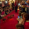 The Duck March at the Peabody Hotel, Memphis, Tennessee.