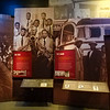 The band and life on the road.  B B King Museum, Greenville, Mississippi.