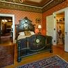 Bedroom in the Rockcliffe Mansion, Hannibal, Missouri.