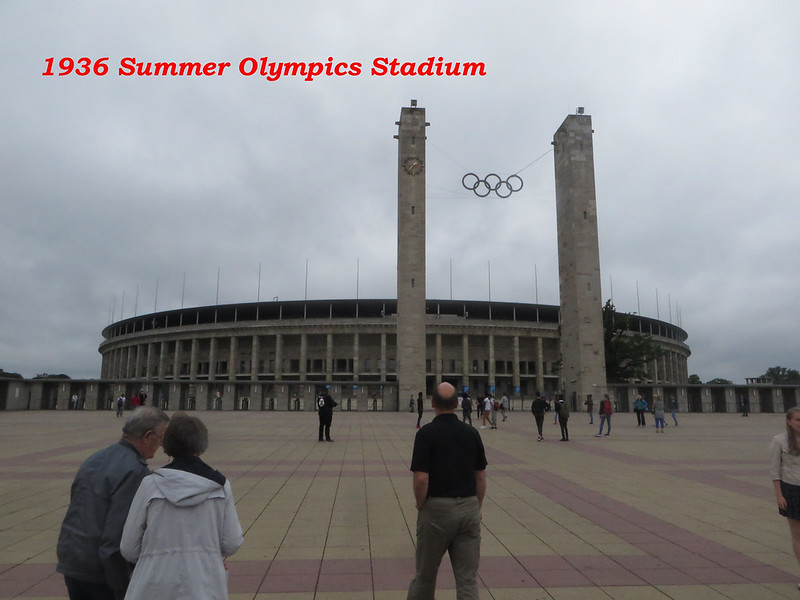 20160803d - Berlin Olympics (1) 1936 Olympics Stadium