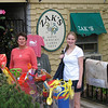 Pam and intern open up Zak's in the centre of town