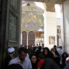We visit the mosque along with many Iranian pilgrims to whom this is a special place worthy of the long trip
