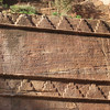 A frequently used pattern on the tombs of Petra