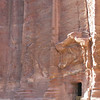 The famous rose tinted rock of Petra here with fantastic differential weathering