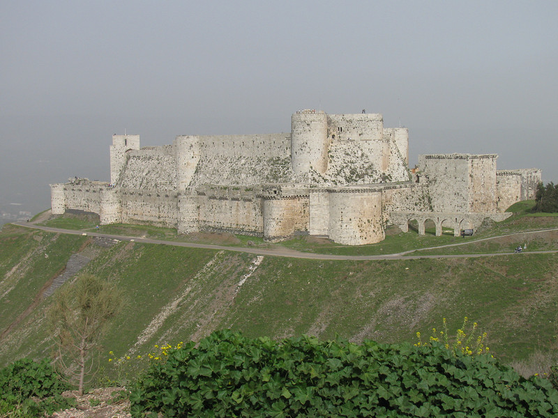 Crusader castle - Crac de Chevalier