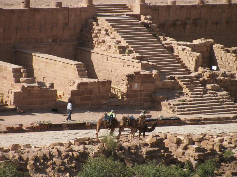 Main street Petra