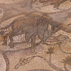 Mosaic floor of the early Christian church Petra