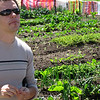 SDC Project leader Stefan Gamper listens to the farmer positive experience.