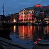 Amsterdam - Royal Theater twilight view