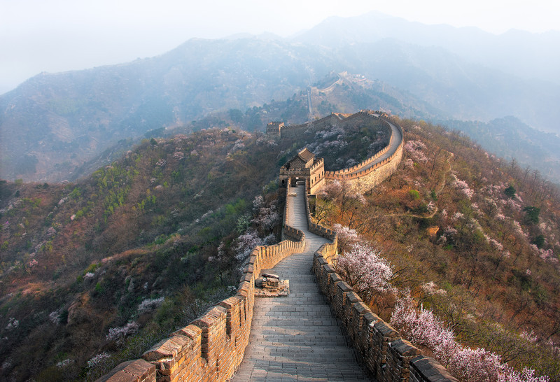 Beyond The Fog    The Great Wall of China
