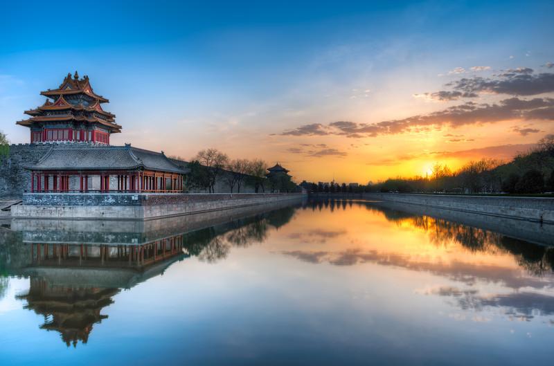 Along The North Wall    Beijing China