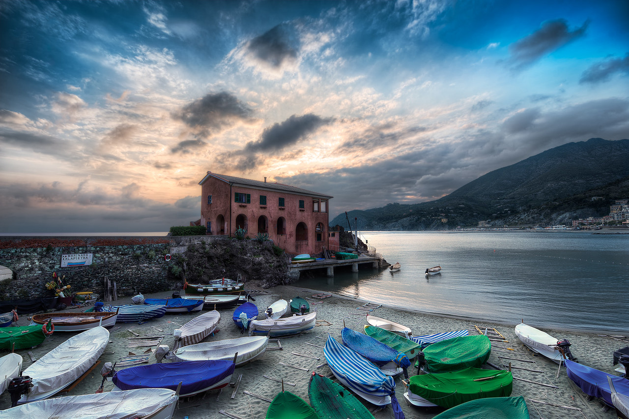 The Boat House || Levanto Italy