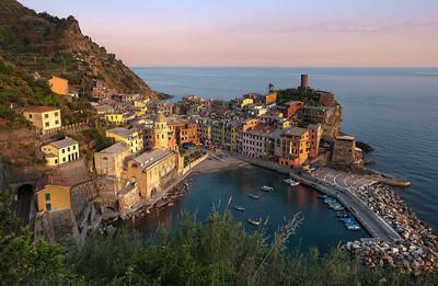Golden Embrace    Vernazza Italy