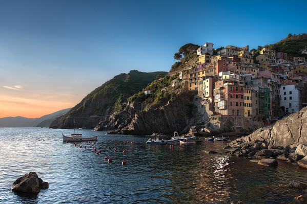The Beauty Of Surrender - (Riomaggiore, Cinque Terre, Italy)