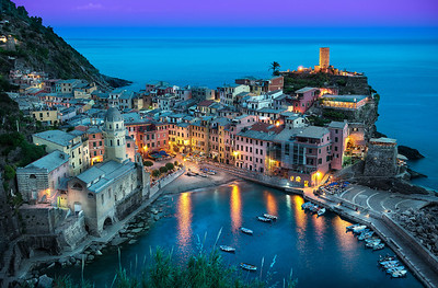The Beautiful Vernazza || (Cinque Terre) Italy