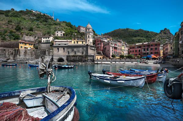 Summer's Heart - (Vernazza, Cinque Terre, Italy)