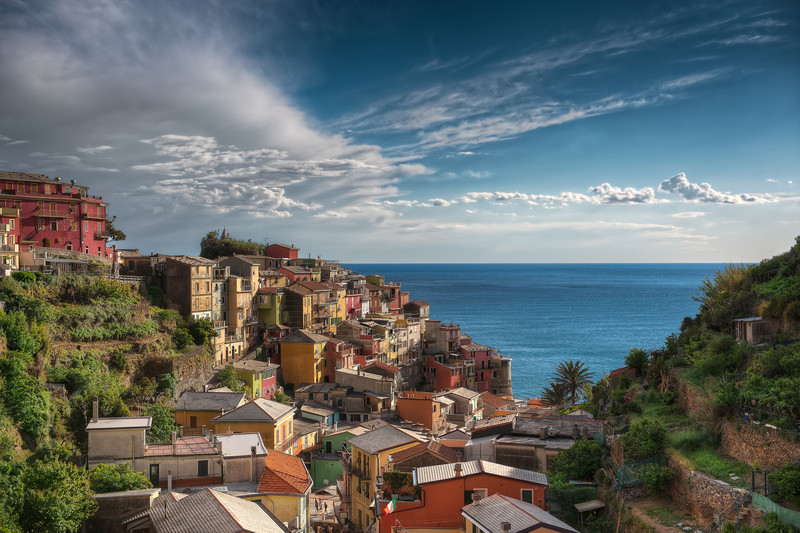Village By The Sea || Manarola Italy