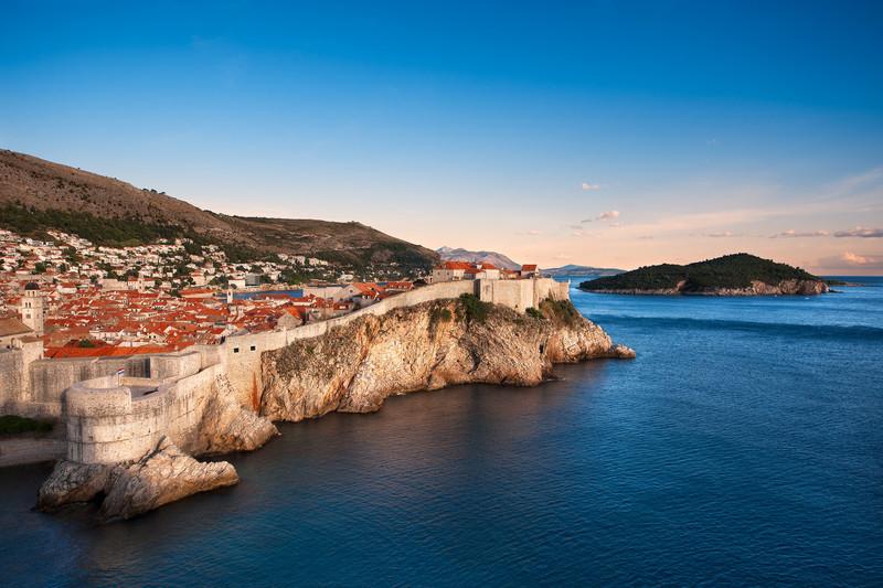 The Pearl Of The Adriatic    Dubrovnik Croatia