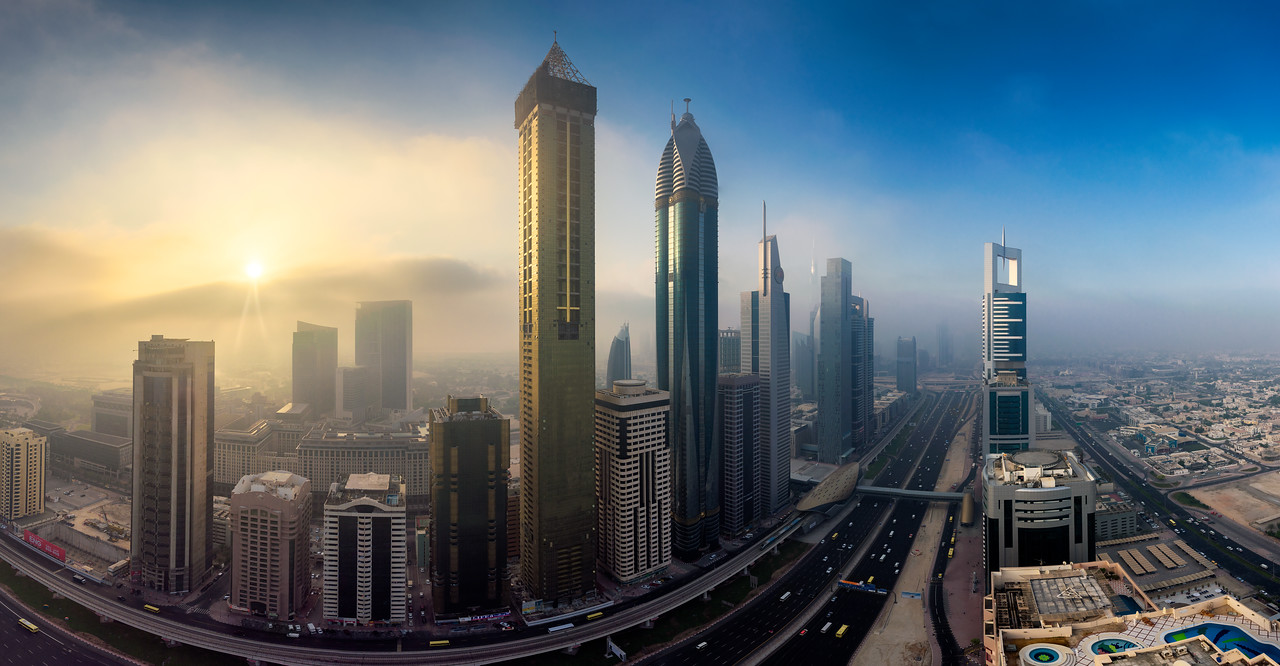Dusty Dawn || Dubai