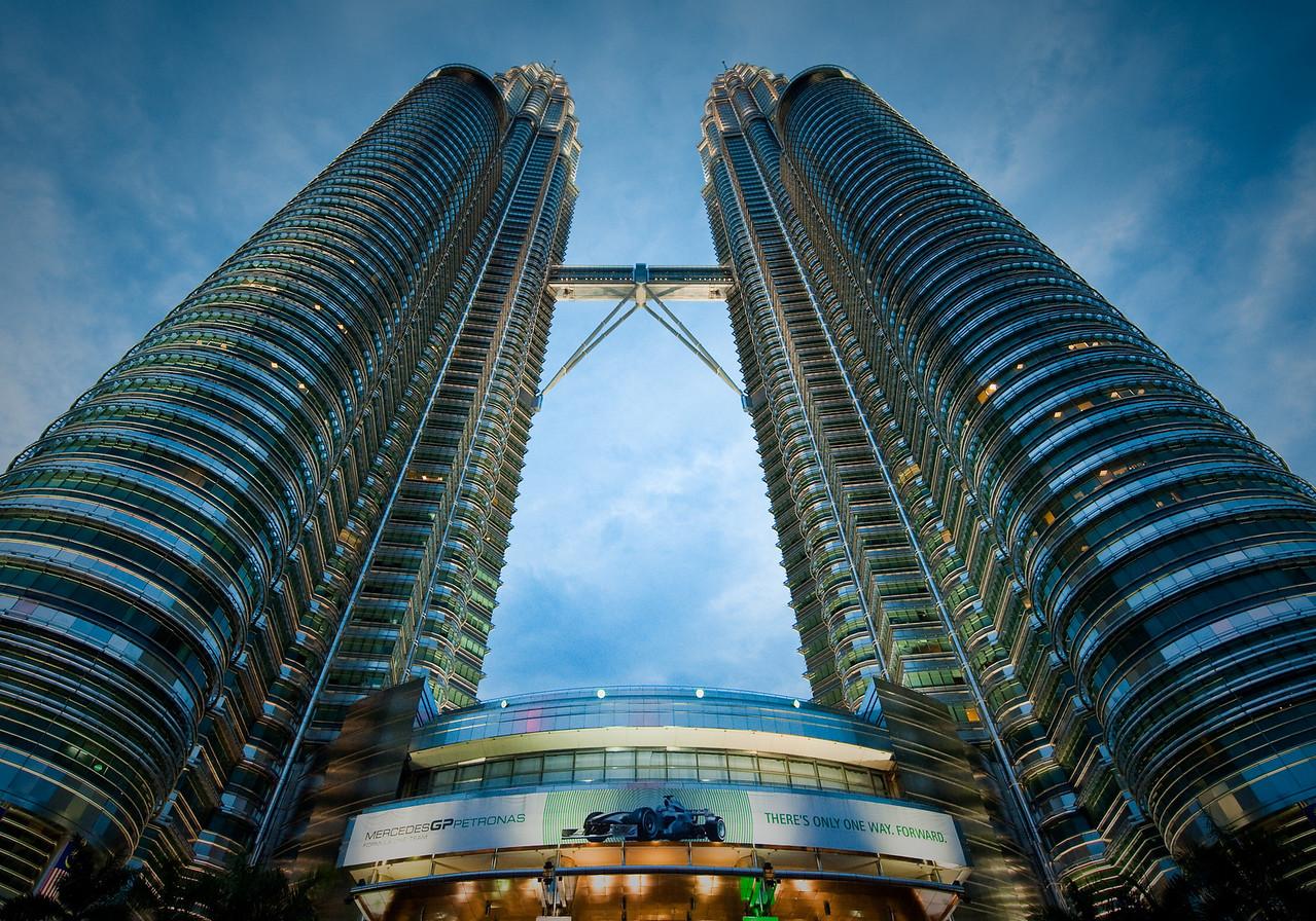Petronas towers KL Malaysia -1