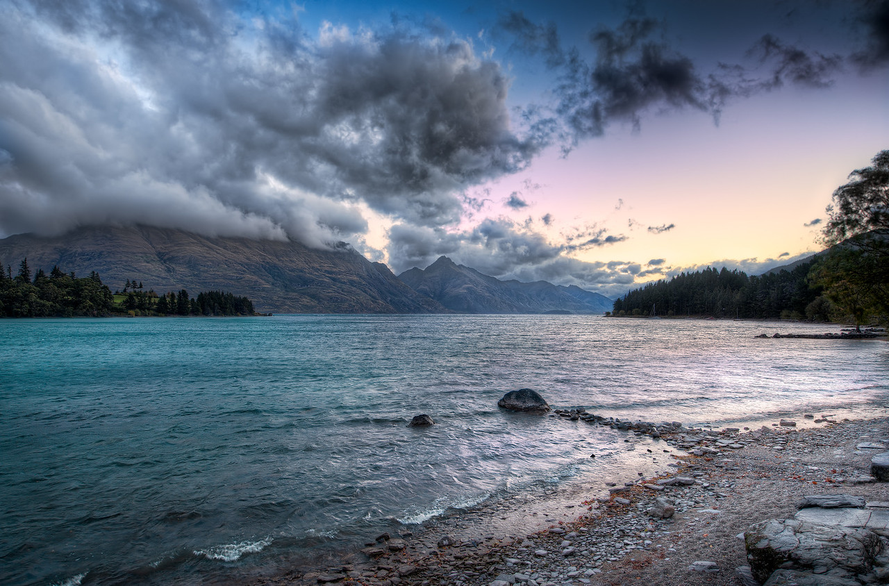 As The Dawn Breaks - (Queenstown, New Zealand)
